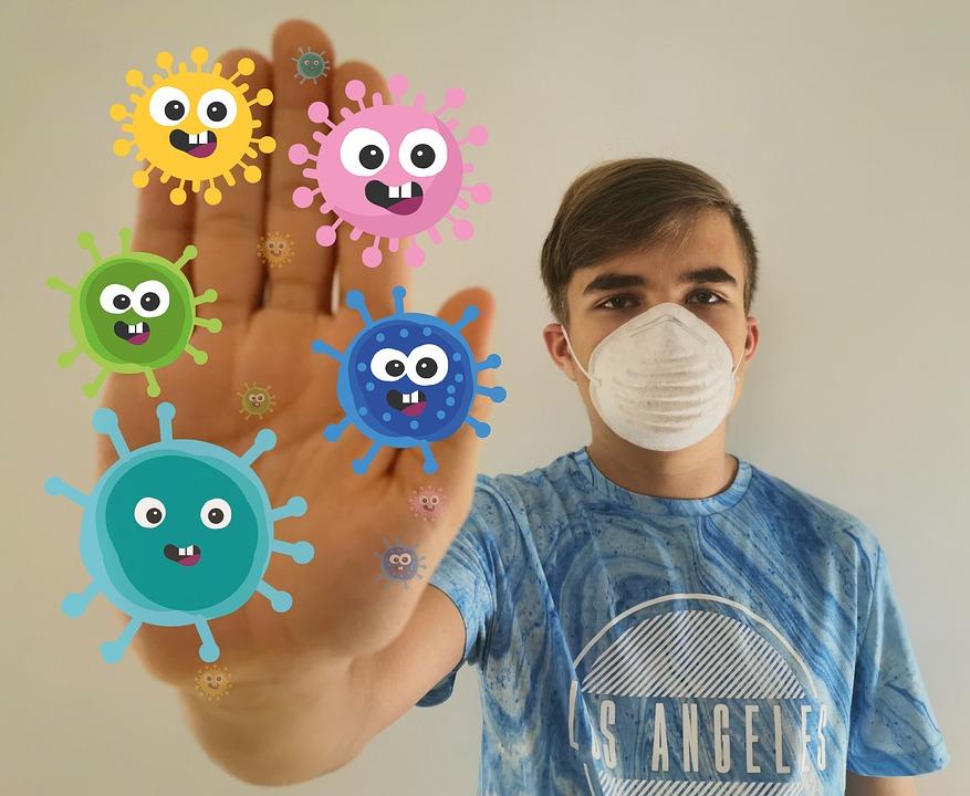Corona, Virus, Stop, Covid-19, Mask, Pandemic