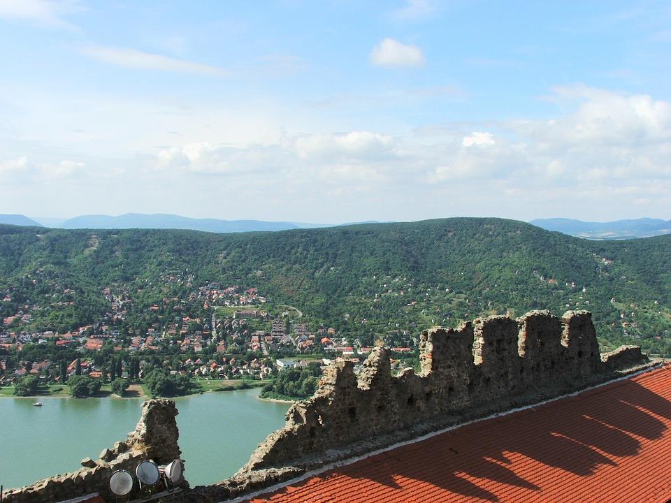 Visegrád, Citadel, Danube