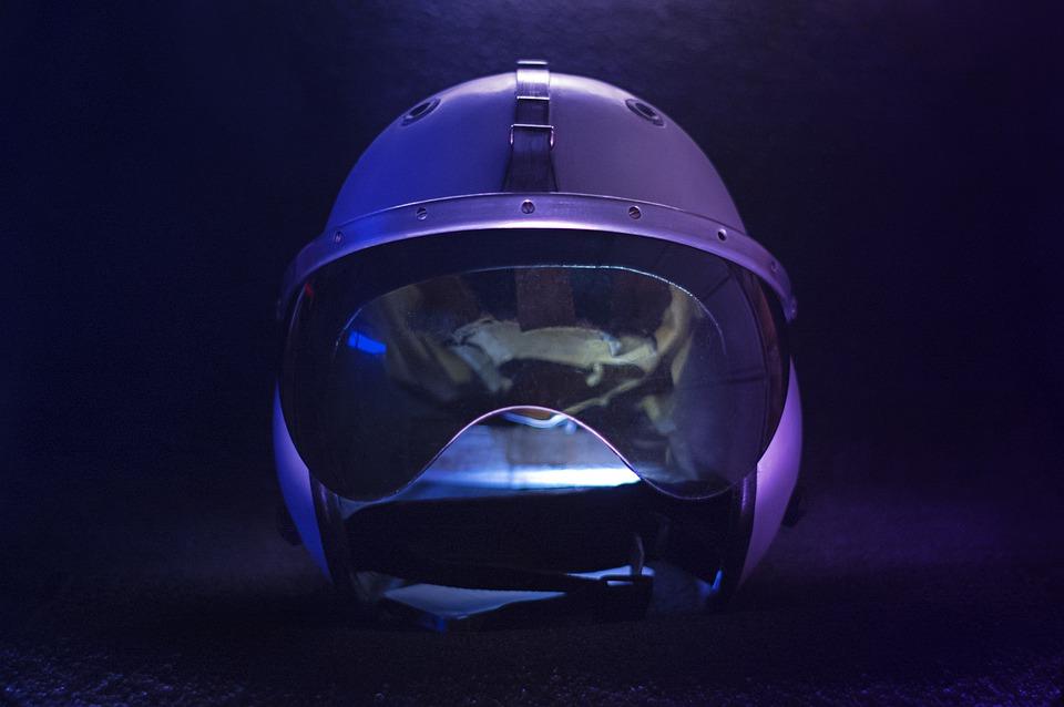Motorcycle, Helmet, Safety, Visor, Reflection, Modern