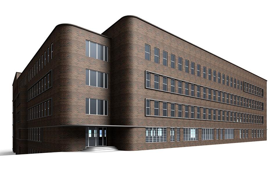 Office Building, Villa, Rendering, Visualization