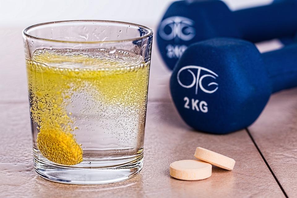 Vitamin B, Effervescent, Tablet, Supplement