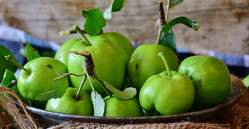 Apple, Green, Fruit, Healthy, Food, Vitamins, Eat