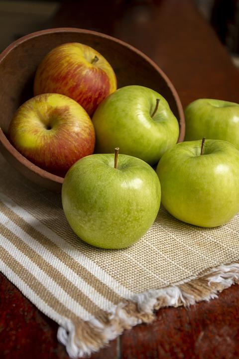 Healthy, Vitamins, Apples, Fruit