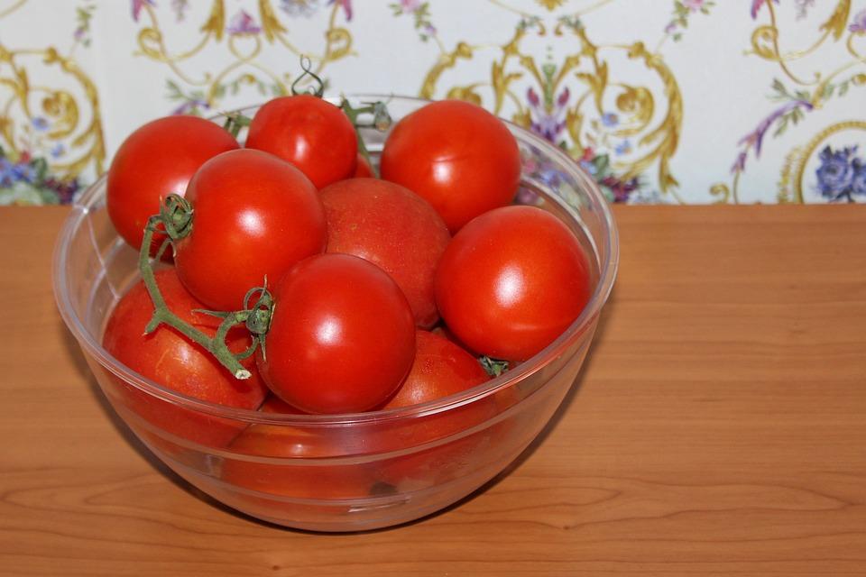 Tomatoes, Red, Vegetables, Food, Vitamins
