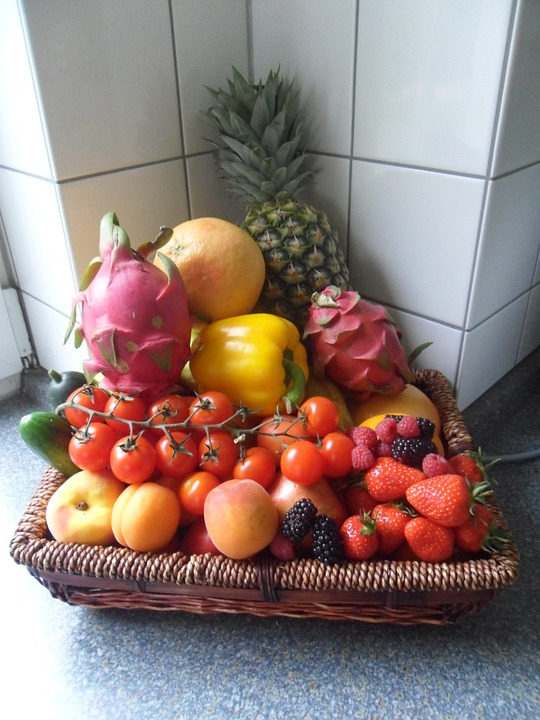 Fruit, Fruit Basket, Healthy, Food, Vitamins, Delicious