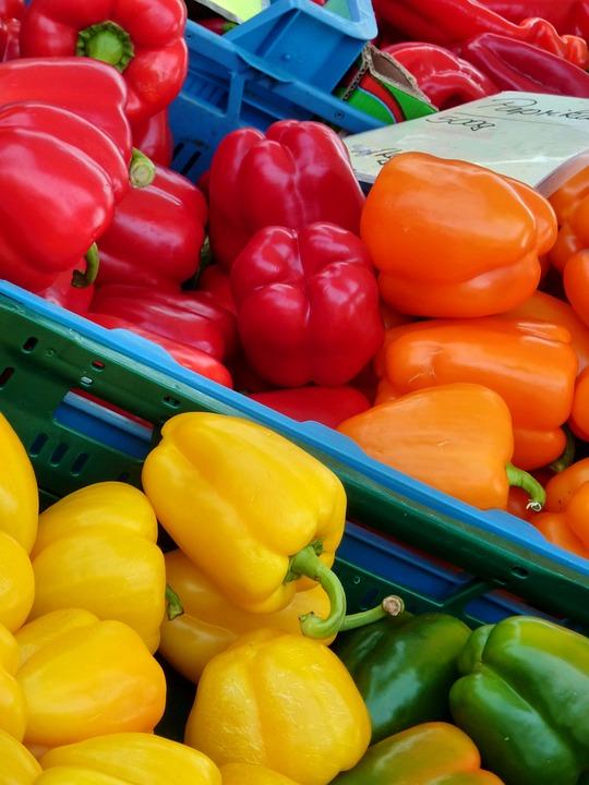 Paprika, Vitamins, Fruit, Healthy, Nutrition, Tasty