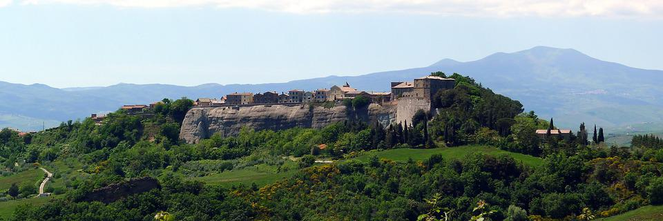 Trevinano, Viterbo Province, Landscape, Latium, Italy