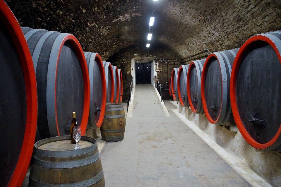 Viticulture, Wine, Barrels, Storage, Cellar, Wood