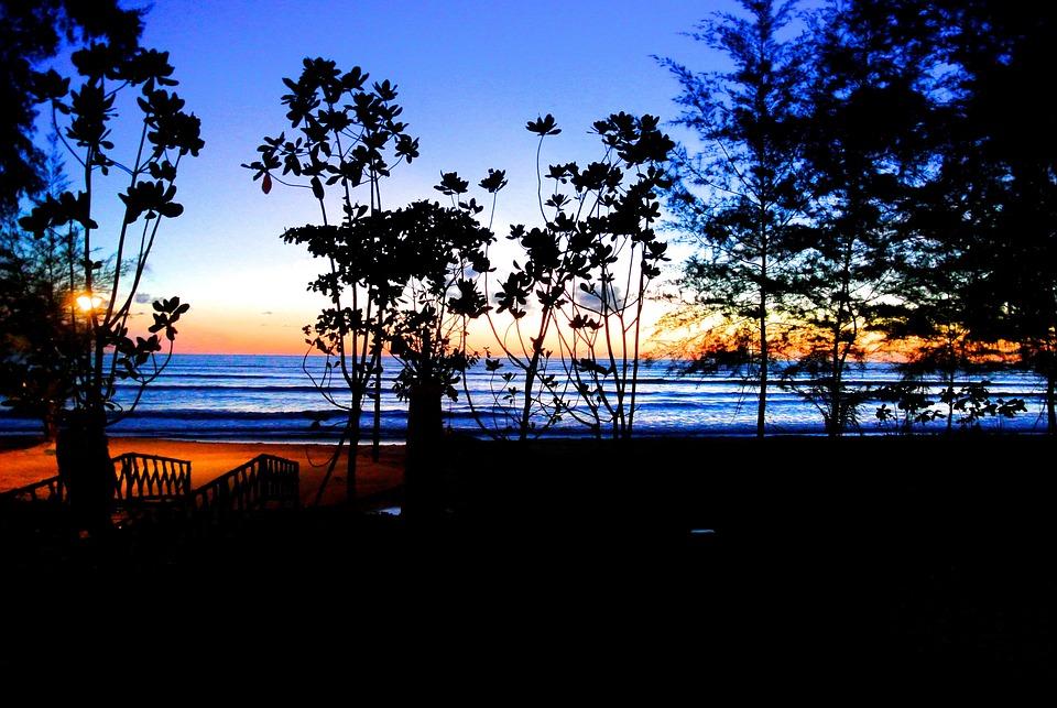 Resort, Thailand, Khao Lak, Holiday, Vocation, Sunset