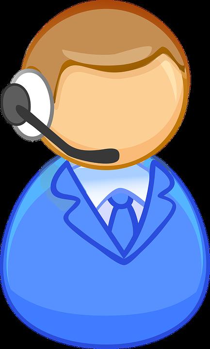 Man, Operator, Call Center, Voip, Headphone, Voice