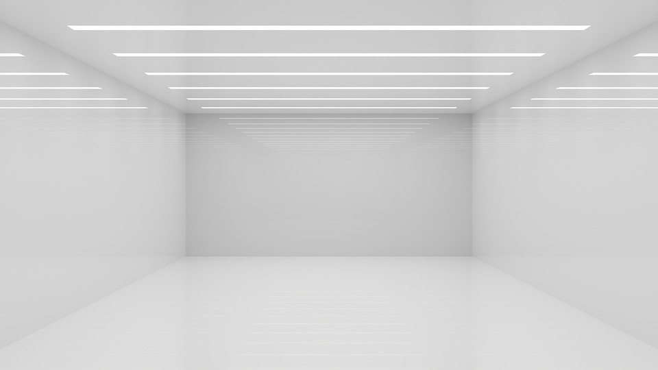 Room, Empty, White, Abstract, Void, White Room