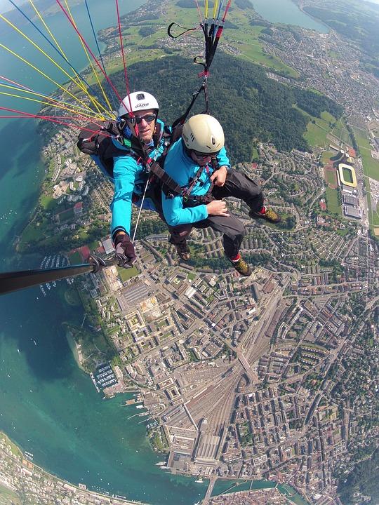Volaris Paragliding, Tandem Flight, Paragliding