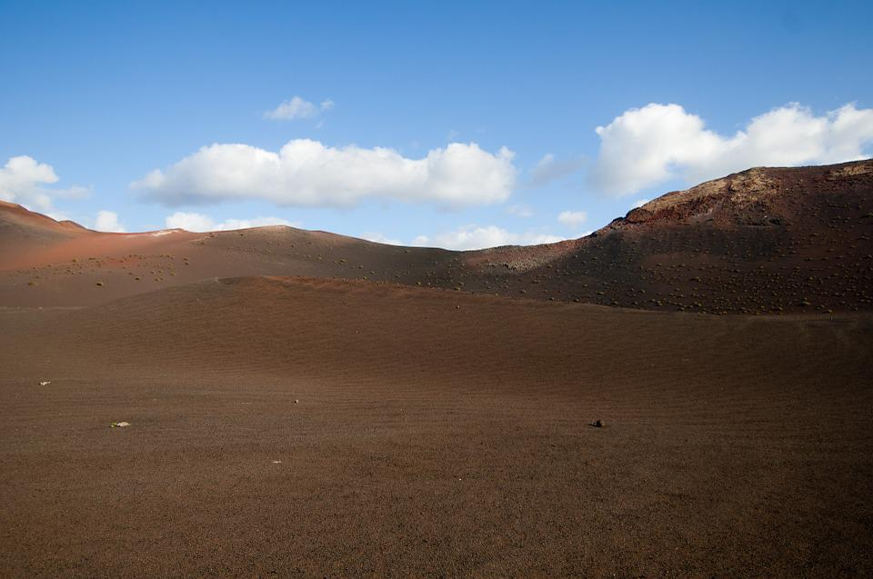 Lanzarote, Canary Islands, Spain, Nature, Volcanic, Dry