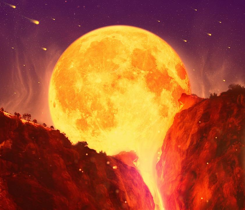Volcano, Volcanic, Meteor, Comet, Armageddon, Fire