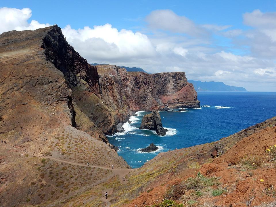 Madeira, Island, Volcano, Rock, Portugal, Atlantic