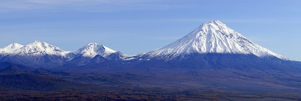 Russia, Kamchatka, Volcano, Mountion, Nature, Siberia