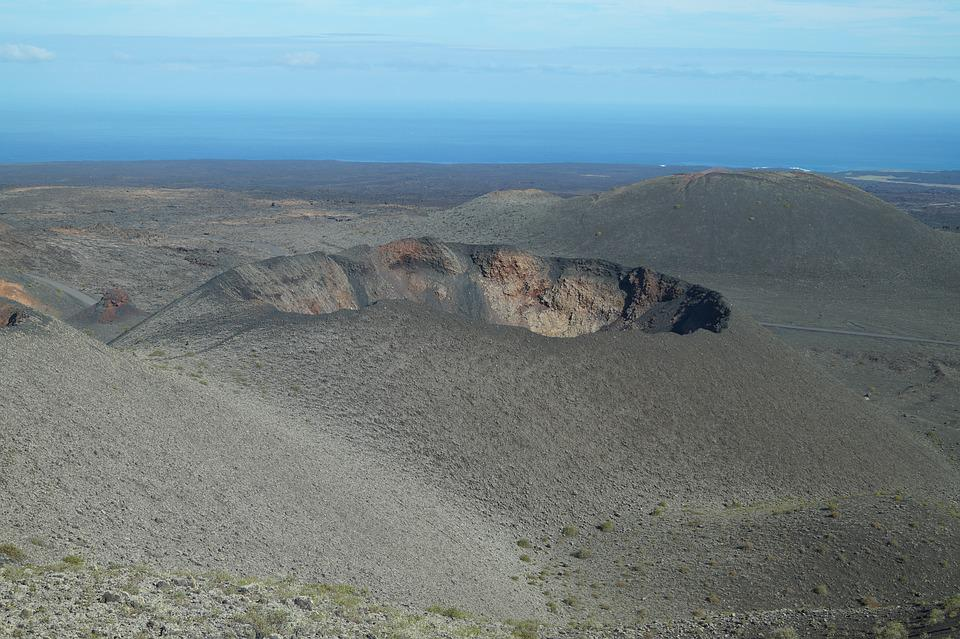 Volcano, Lanzarote, Canary Islands, Landscape