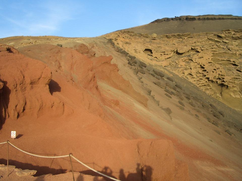 Lanzarote, El Golfo, Lava, Volcano, Volcanic, Nature