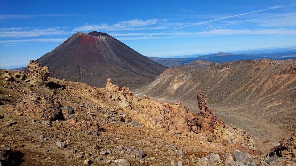 Mountain, Landscape, Nature, Volcano, Sky, Mount