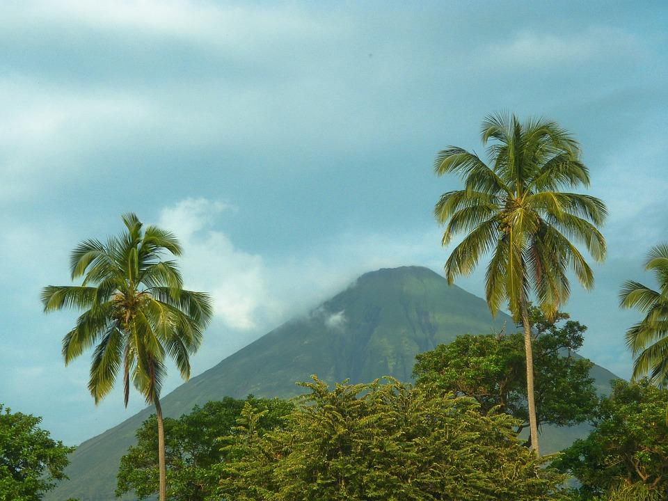 Nicaragua, Volcanoe, Ometepe, Island