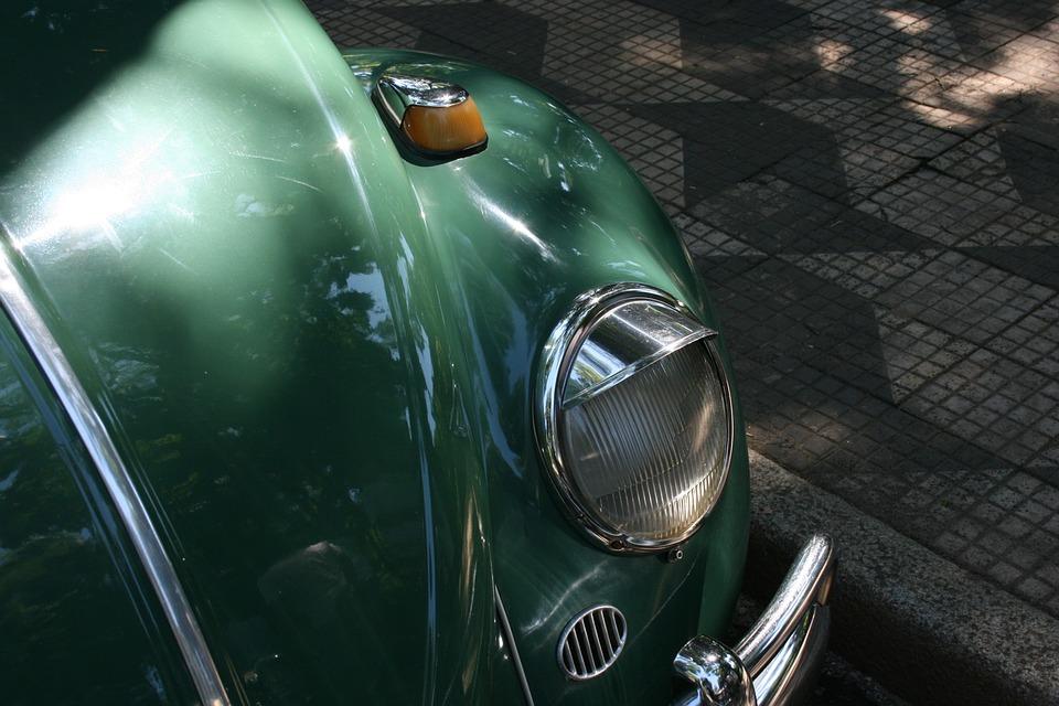 Volkswagen, Fusca, Pestana Drive, Old Car