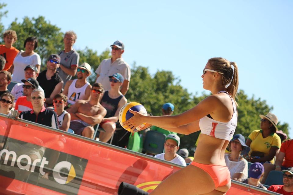 Volleyball Players, Beach Volleyball, Volleyball, Sport