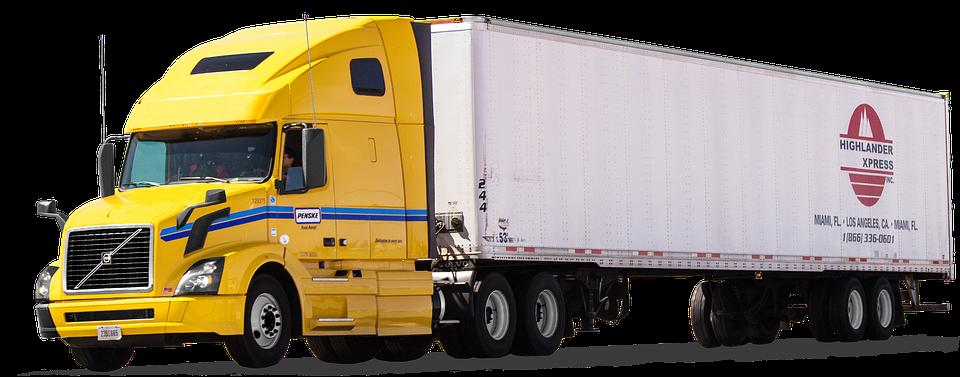 Volvo, Us Truck, Truck, Semi Trailers, Desert