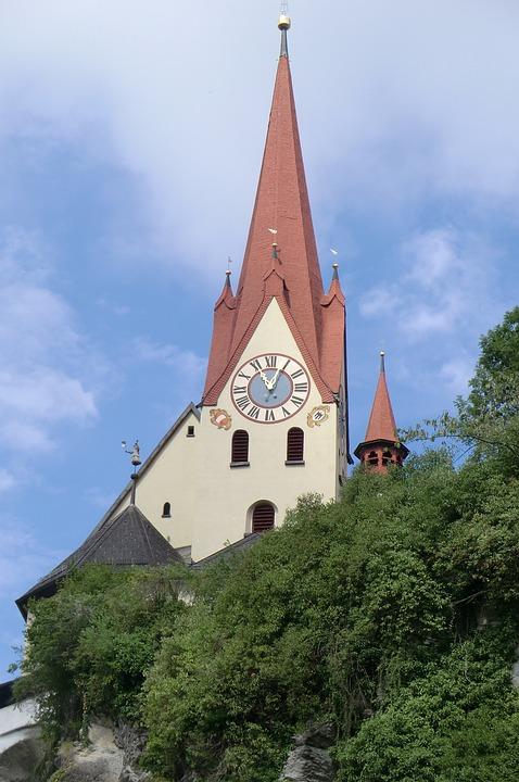 Vorarlberg, Austria, Rankweil, Basilika Rankweil