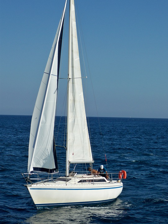Sailboat, Sail, Sailing, Boat, Voyage, Sea, Travel
