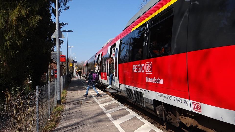 Hamlet Of Bergen, Vt 644, Brenz Railway, Kbs 757