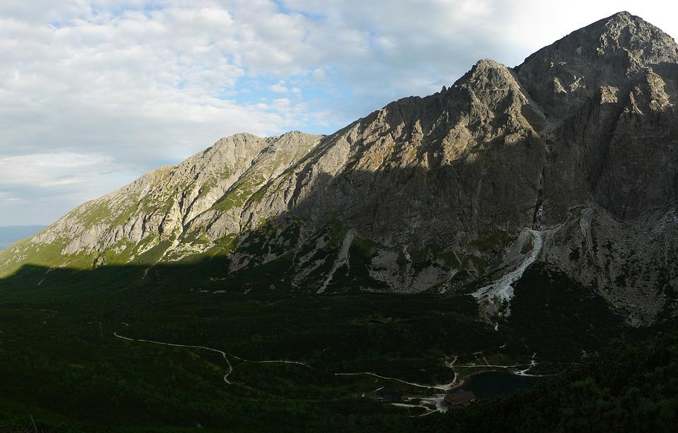 Slovakia, Vysoké Tatry, Mountains, Green Mountain Lake