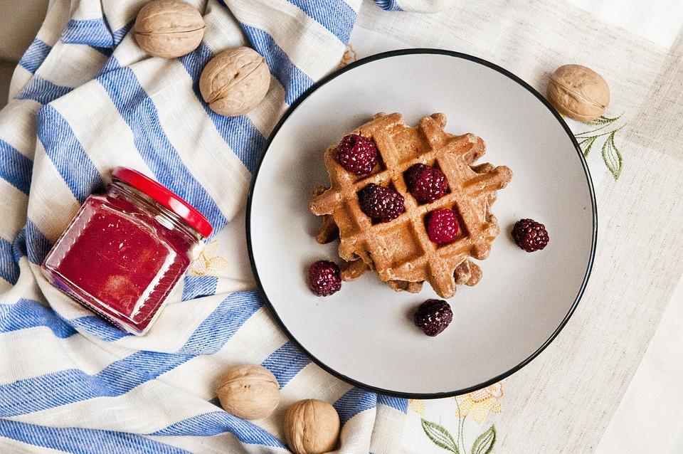 Free photo Wafer Breakfast Nuts Jam Proper Nutrition Pp Hls - Max Pixel