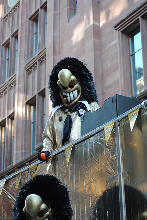 Mask, Waggis, Carnival, Basler Fasnacht 2015