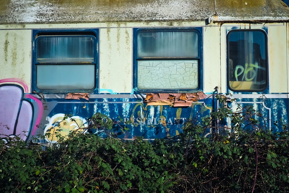 Lost Places, Wagon, Abandoned, Decay, Old, Lapsed