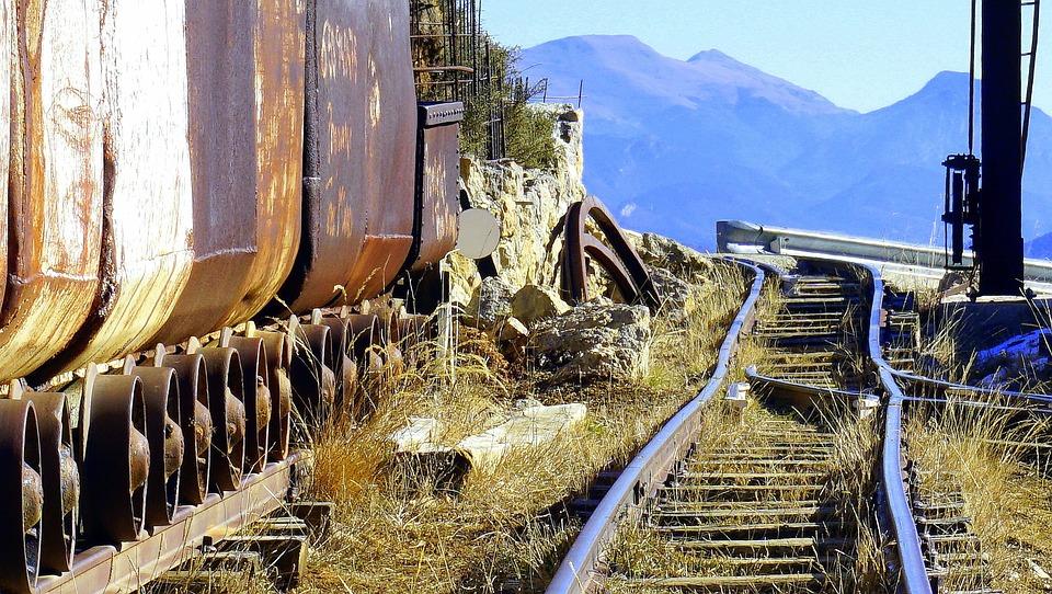 Train, Miner, Infrastructure, Railway Equipment, Wagon