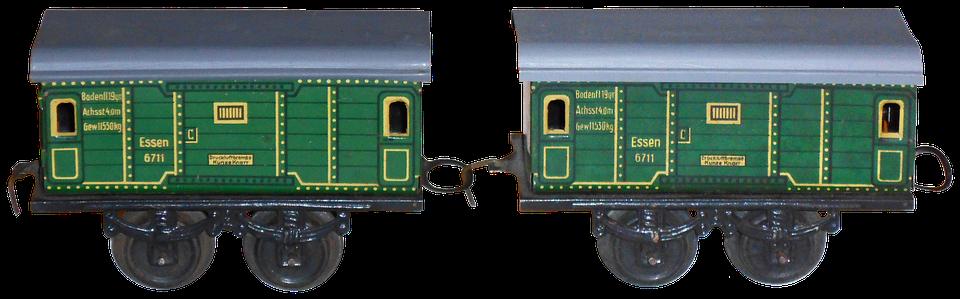 Train, Modeling, Miniature, This Company, Trains, Wagon