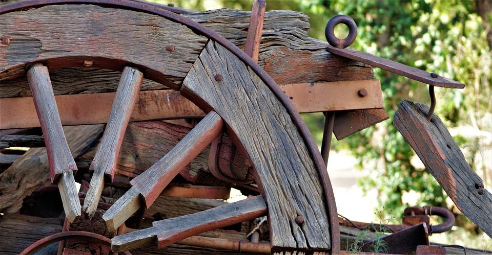 Wagon Wheel, Farm, Western, Wheel, Wagon, Transport