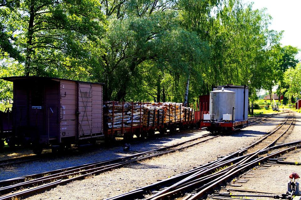 Railway Museum, Wagons, Rails, Narrow Gauge Railway