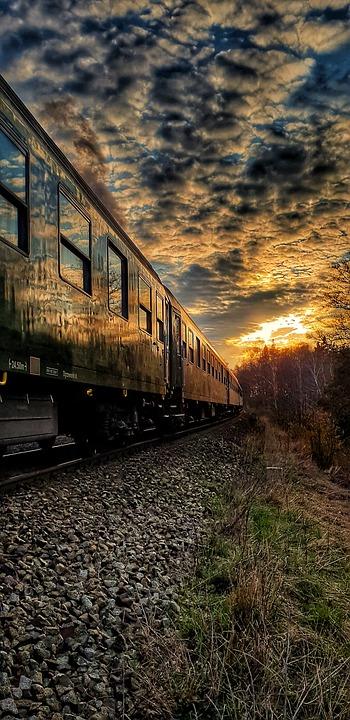 Sky, Reflex, Wagons, Train