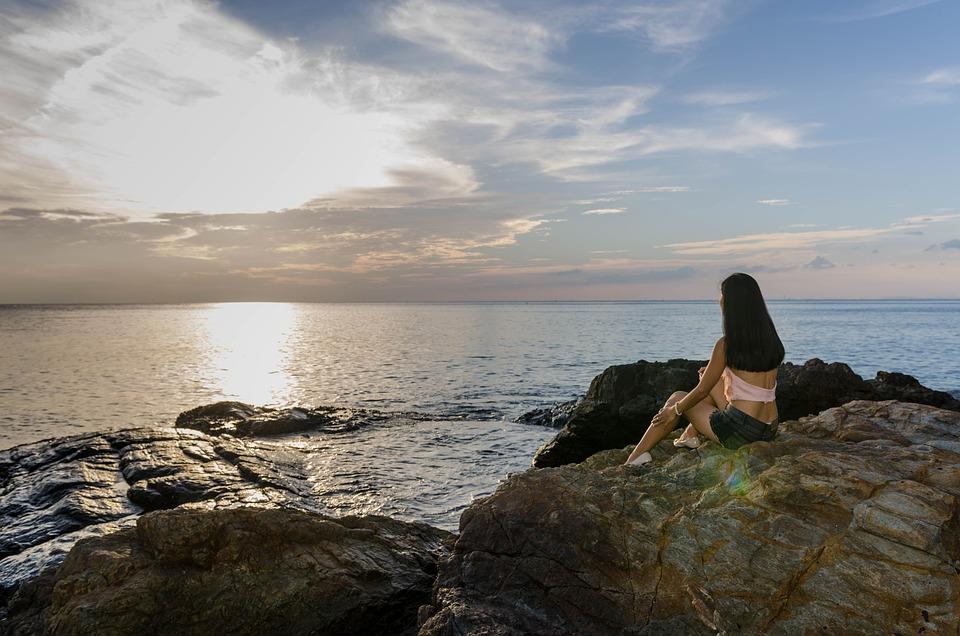 Waiting, Sad, Drama, Sunset, Sadness, Person, Alone