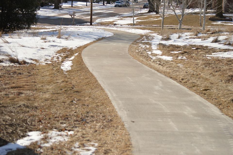 Path, Cement, Walking, Road, Park, Way, Concrete