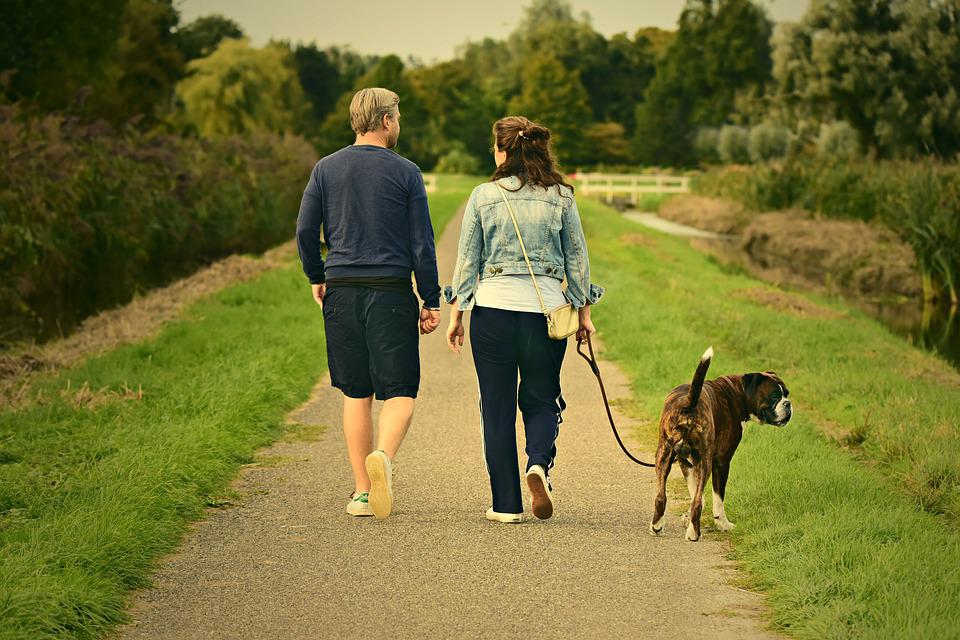 Man, Woman, Couple, Walking, Two, Together, Pair