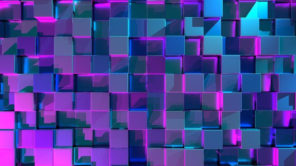 Cube 3d Background Wallpaper Pattern Texture Wall