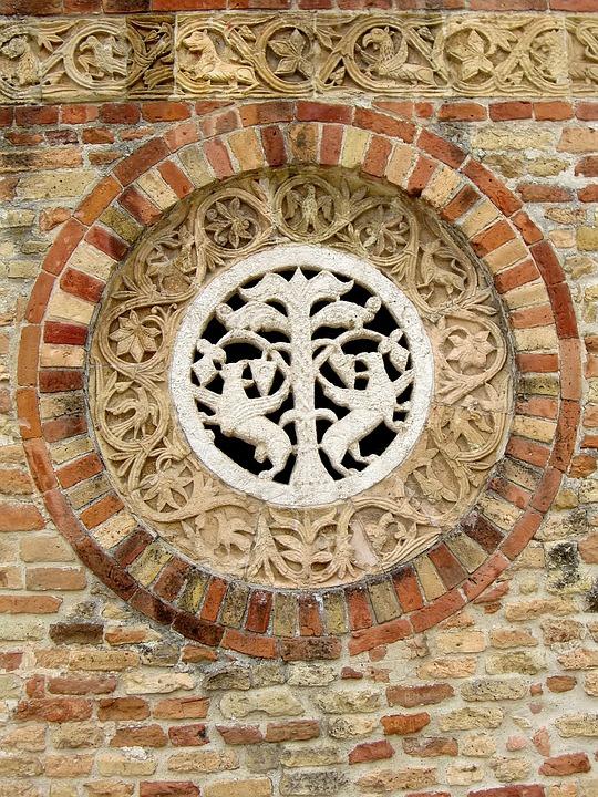 Church, Ornament, Wall, Brick, Architecture, Building