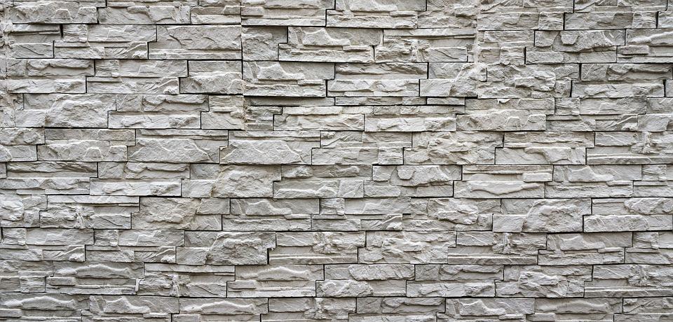 Brick, Wall, Pattern, Texture, White, Blocks, Stone