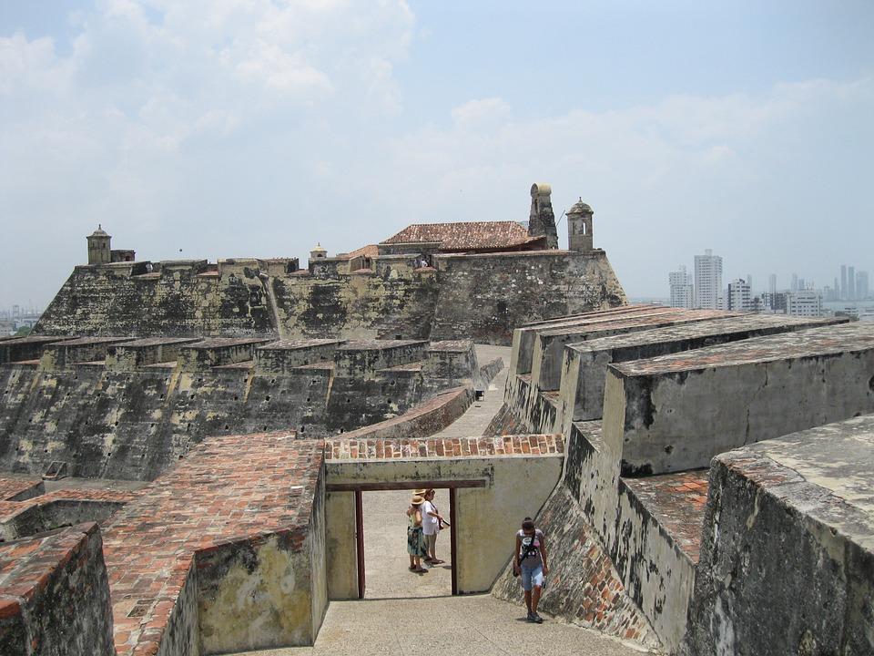 Castle, Cartagena, Wall
