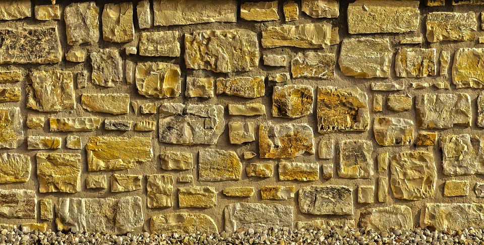 Wall, Facade, Clinker, Panel, Quarry Stone