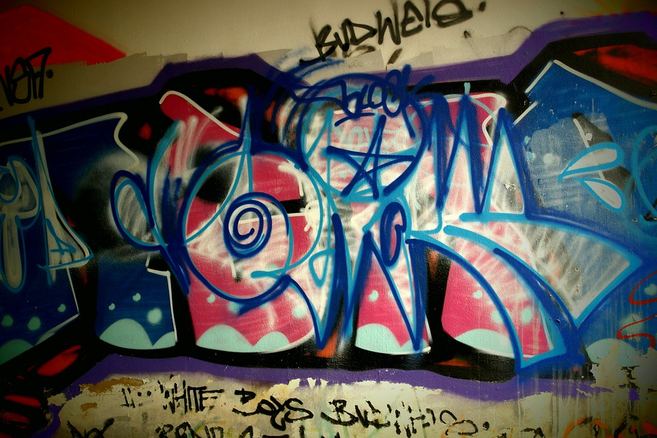 Wall, Signs, Spray, Colors, Talent