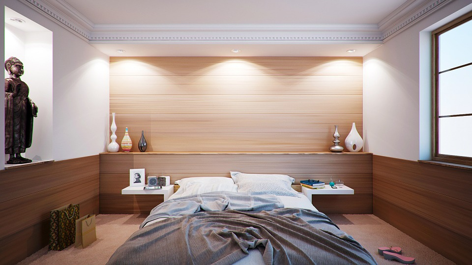 Wall, Bed, Apartment, Room, Interior Design, Decoration