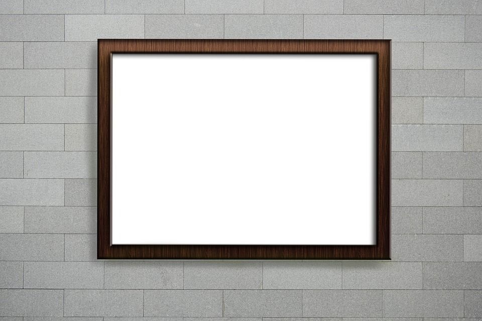 Mockup, Wall, Poster, Empty Frame, Picture Frame